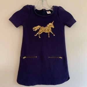 Gymboree unicorn dress